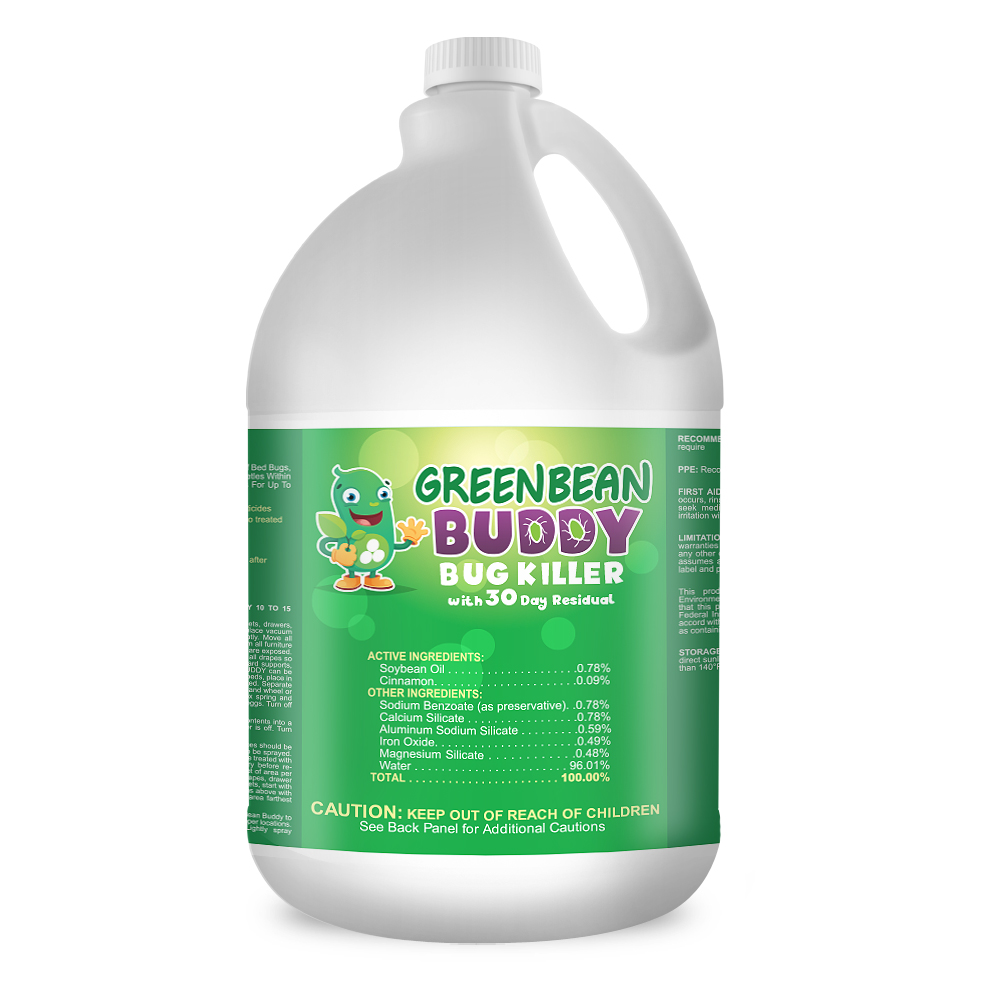 Green Spray Bottle For Bed Bugs