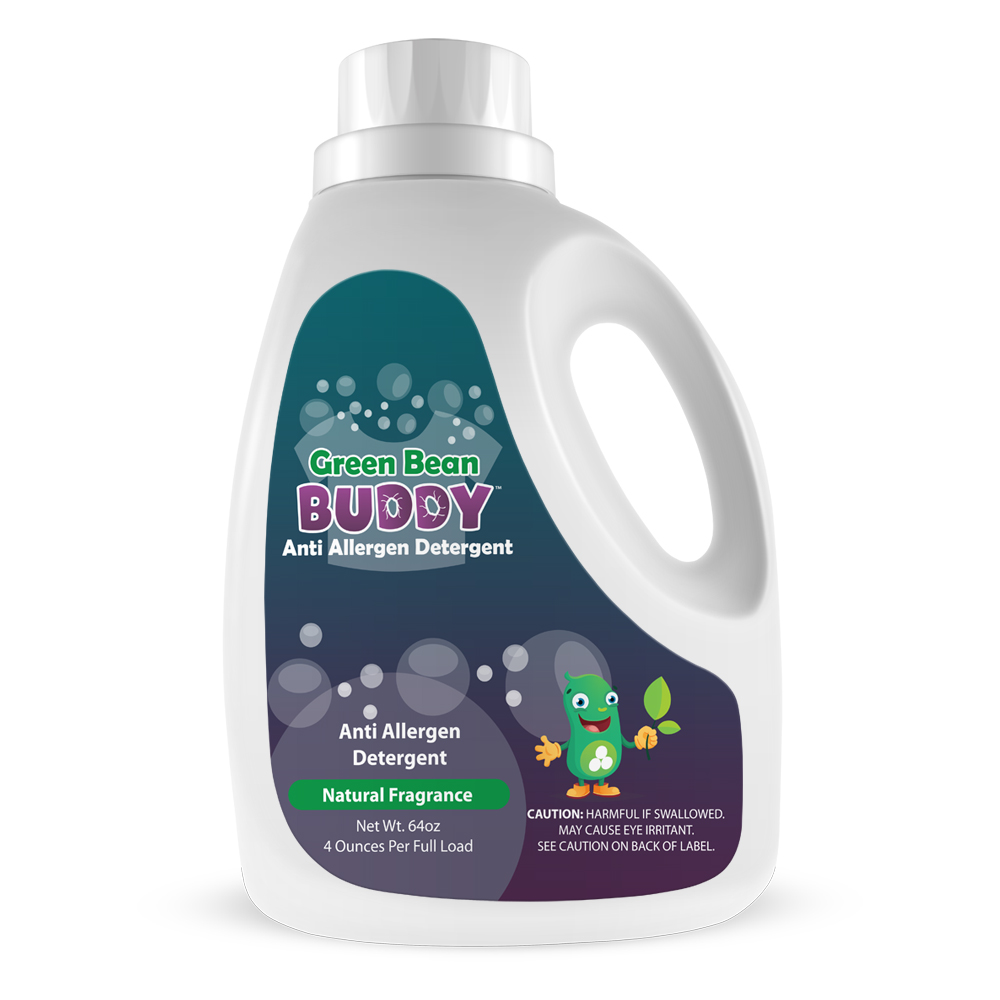 Bed Bug Bully Reviews >> Green Bean Buddy™ Anti Allergen Detergent, 64oz