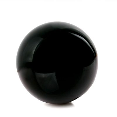 Rare High Vibratory Healing Obsidian Sphere